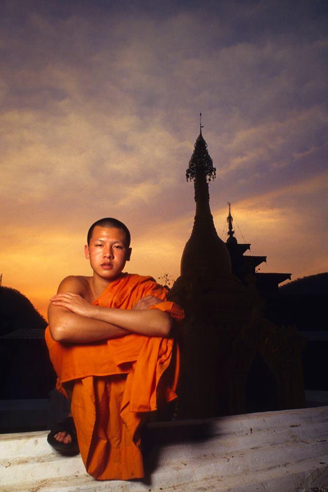 019 S.E. Asian Monk