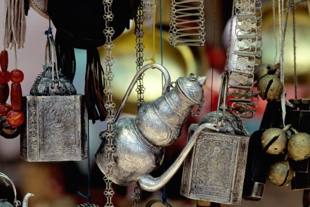 035 Trinkets in Kashgar market
